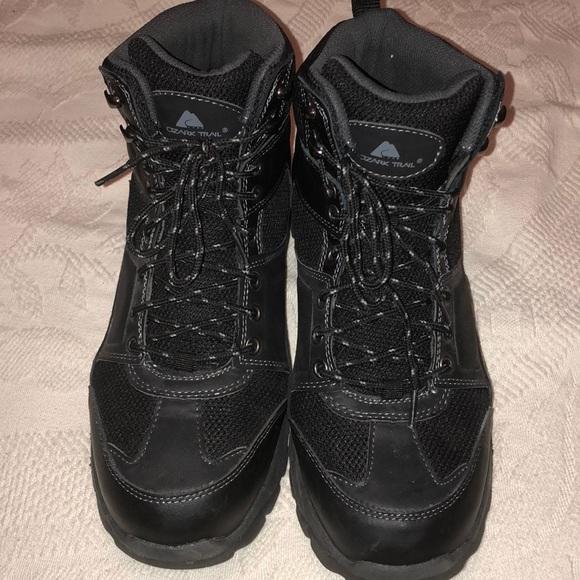 Ozark Trail Other - Ozark Trail Hiking Boots Black Size 10.5